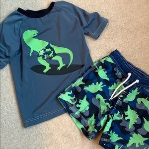 Gymboree boys swim set